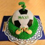 Fußballtorte Motivtorte Fondant Geburtstag