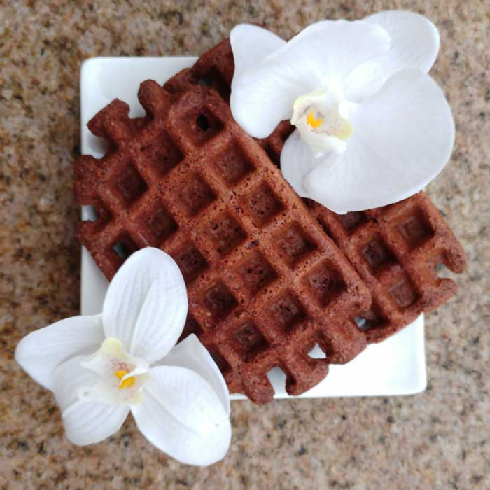 Low-Carb-Waffel