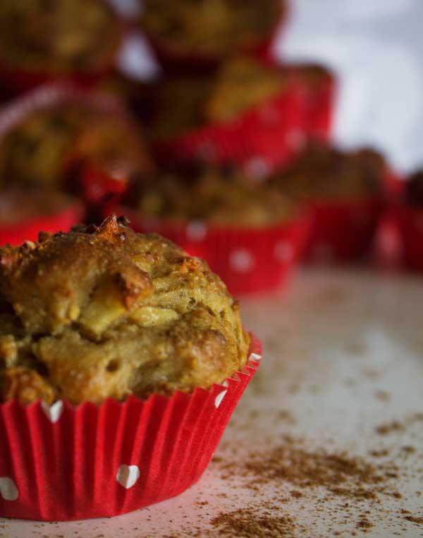 Apfel-Bananen Muffins