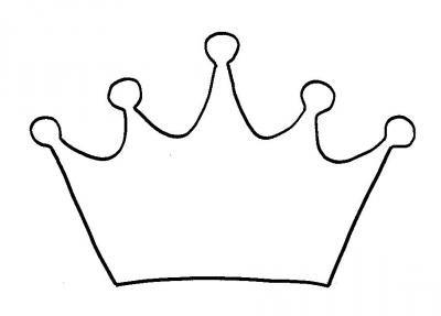 Schablone Krone