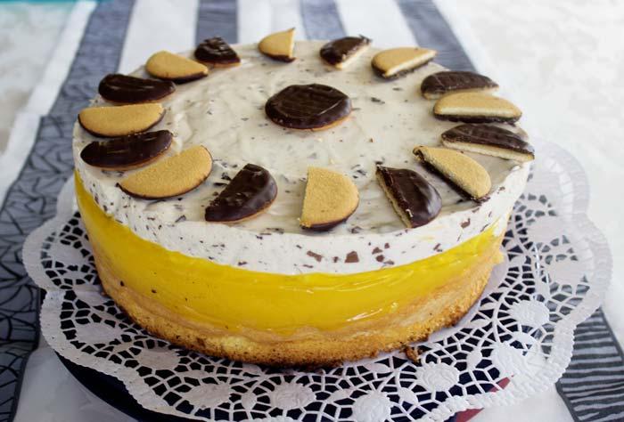 Tropic Maracuja Torte mit Niemetz Schwedenbomben Creme Rezept