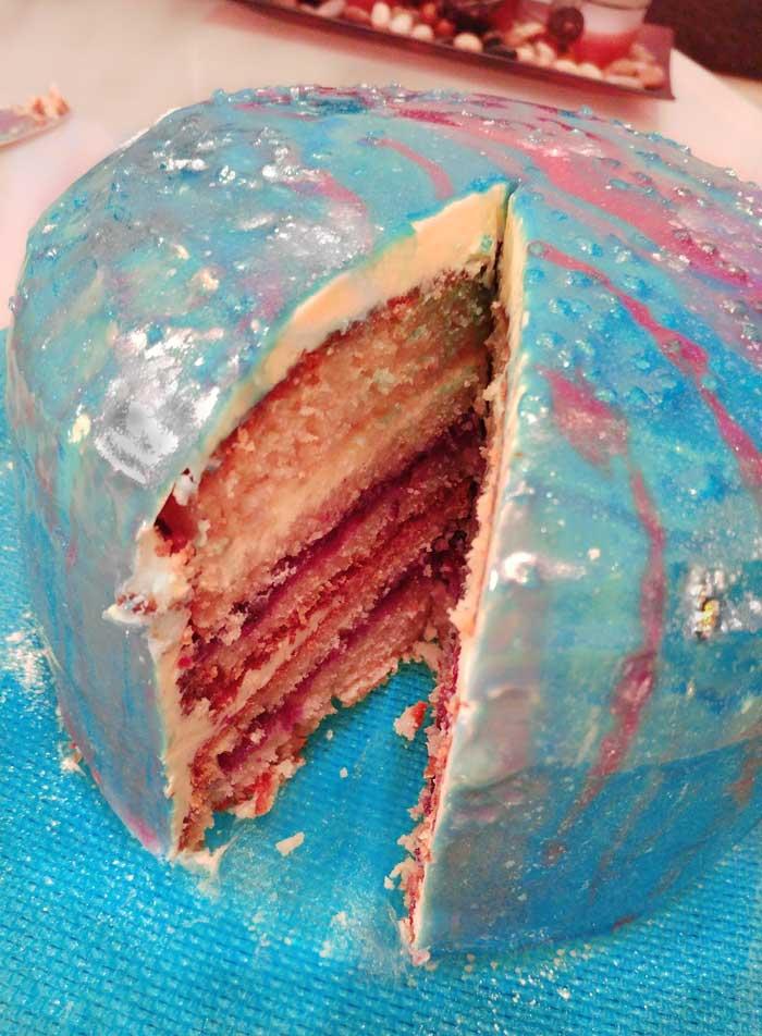 spiegel glasur torte