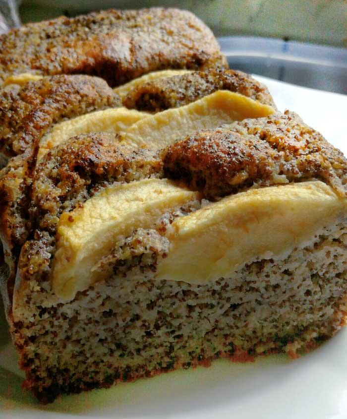 Birnen-Mohnkuchen
