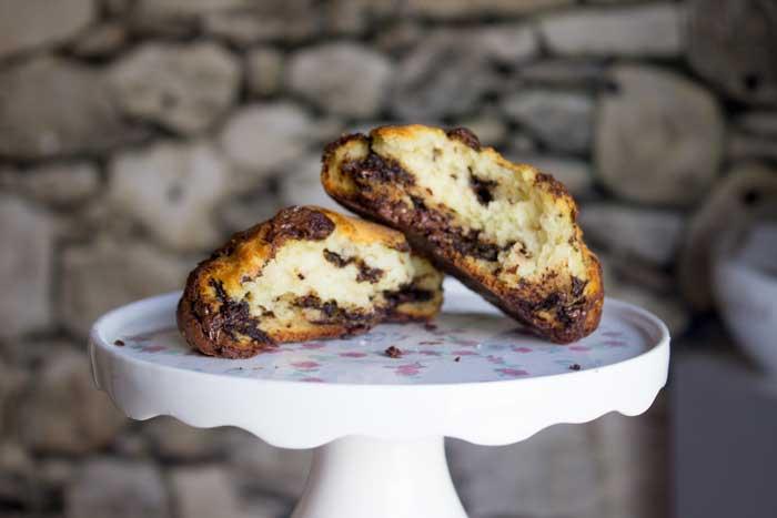 Quarkbrötchen Topfenlaberl Chocolate Chip Walnuss Karamell Ovomaltine Conny's Küchlein