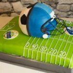 Fußballtorte | Footballtorte | Soccercake | Footballcake | Rapid Seahawks Cake
