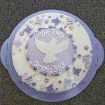 Tauftorte | Baptismcake | Girl Mädchen | Conny's Küchlein | Fondanttaube