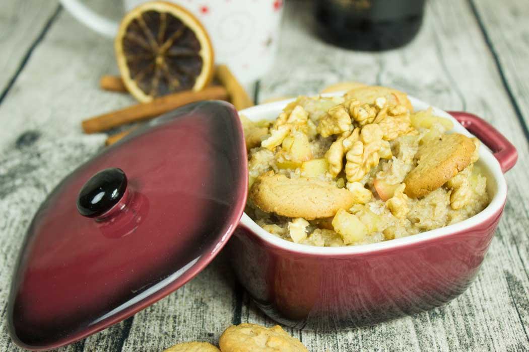 Apfel-Porridge nach Hildegard von Bingen | Conny's Küchlein