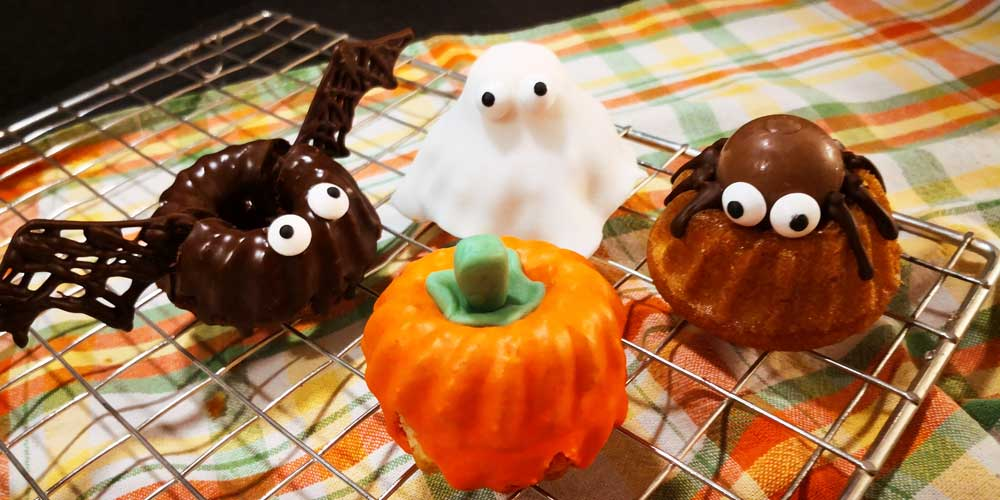 Gugelhupf im Halloween-Stil | Kuchen