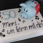 Sparkassen_Noten Torte