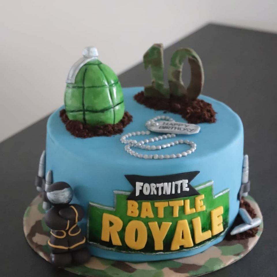 Fortnite Torte - Conny's Küchlein