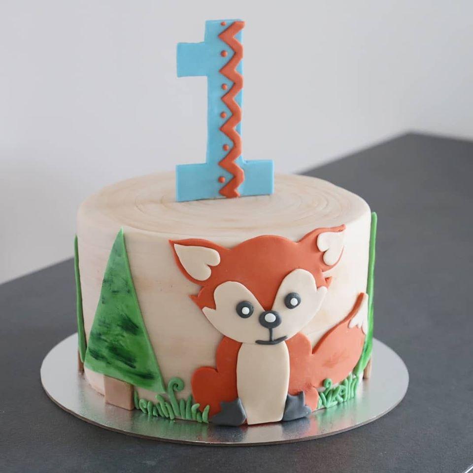 Fuchstorte_Foxcake_1st Birthday_Conny's Küchlein