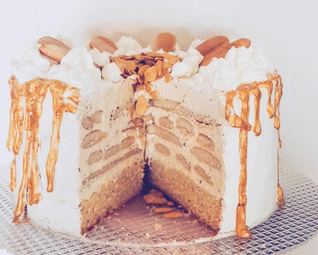 Malakoff Torte | Anschnittbild