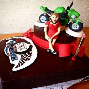 Motorradtorte Triumph